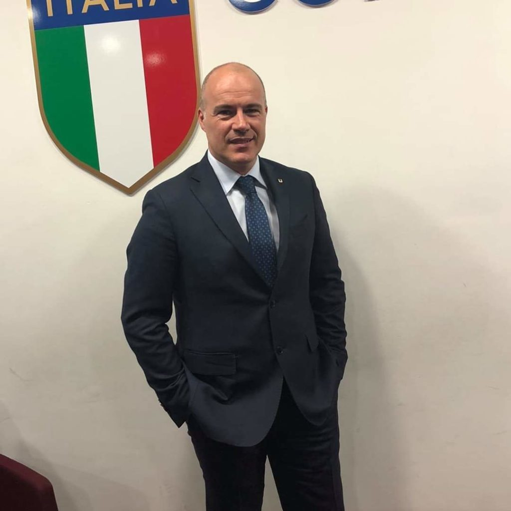 Marco Massarenti, presidente della Federazione Nazionale Sport e Tempo Libero